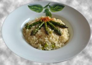 La recette du jour: Risotto aux asperges dans accompagnements 2-300x214