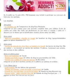 Résultat concours verrines addict 750grammes dans En vedette.... Capture-275x300