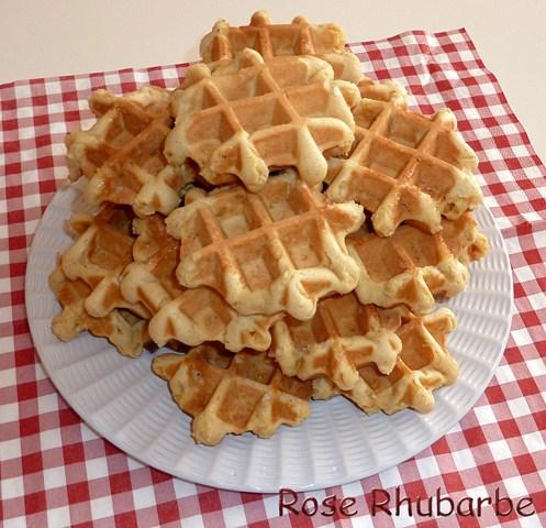 rhubarbe by temp 233 rence 187 la recette du jour les gaufres belges